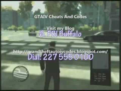 code de triche gta 4
