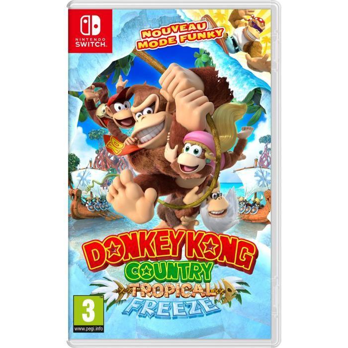 donkey kong switch
