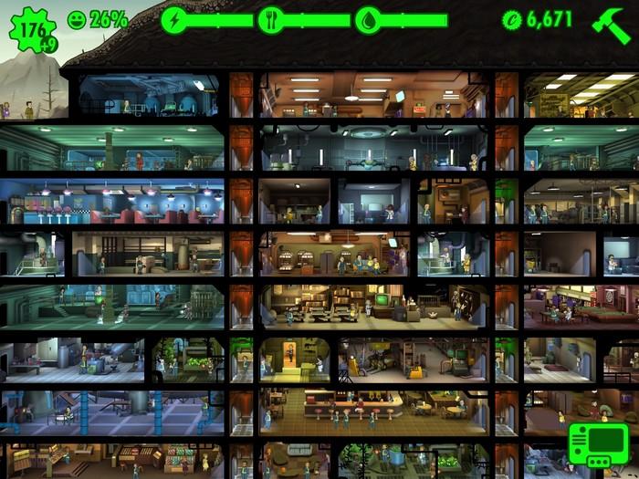 fallout shelter astuce