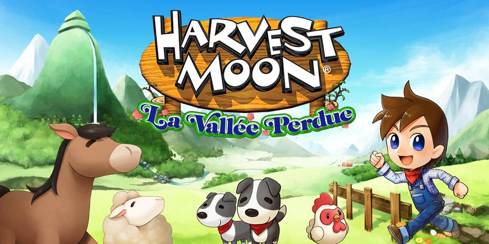 harvest moon la vallee perdue