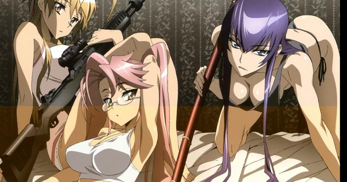 highschool of the dead saison 2