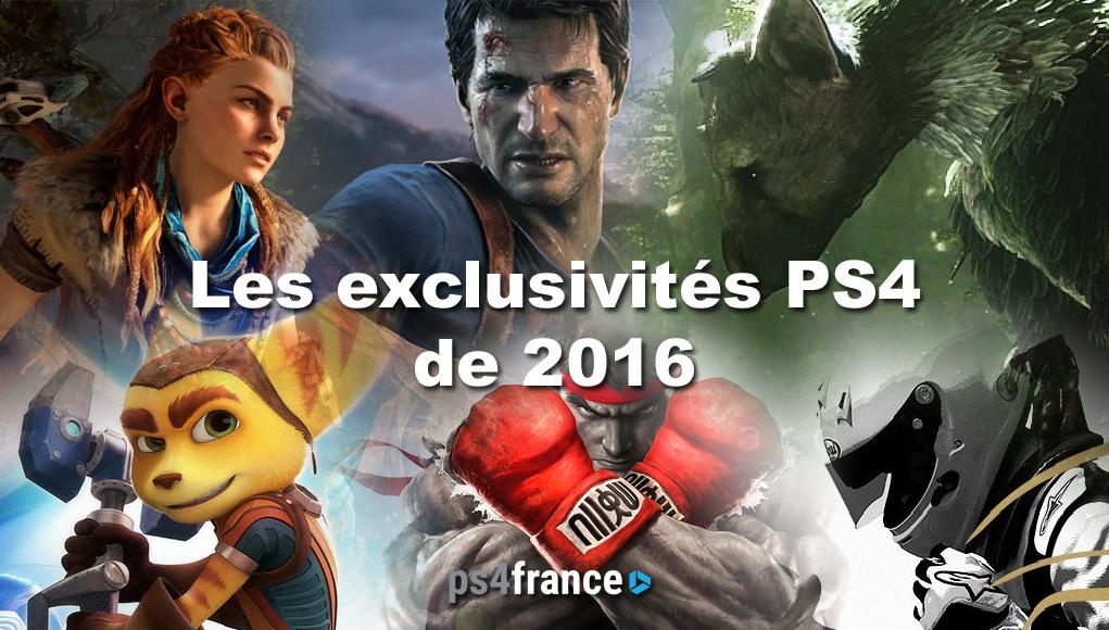 jeux ps4 2016