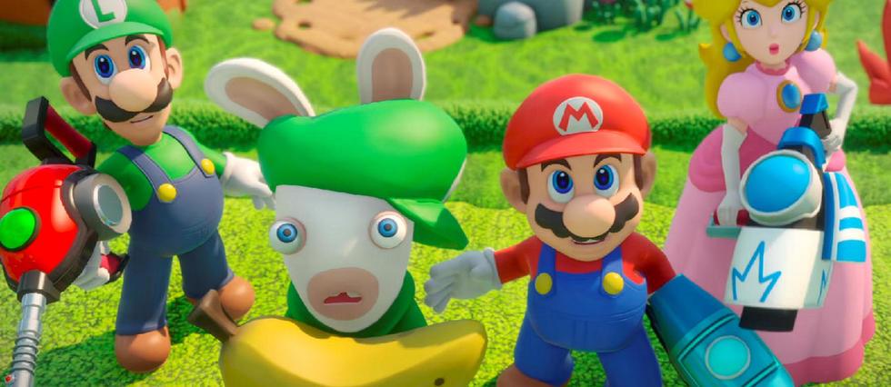 mario et les lapin cretin