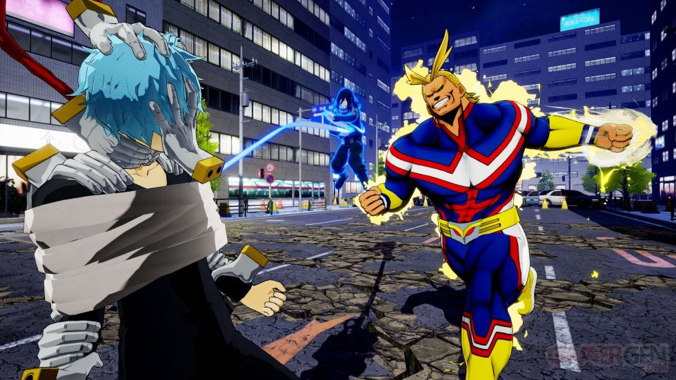 my hero academia one's justice