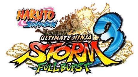 naruto ultimate ninja storm 3
