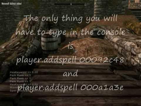 skyrim code