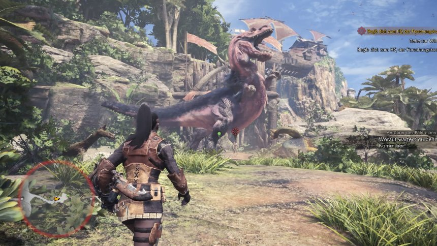 test monster hunter world
