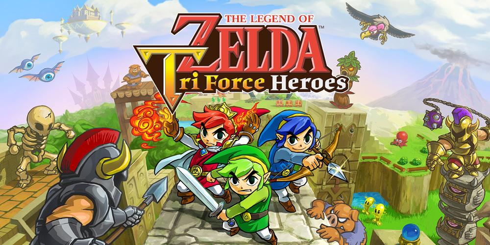 zelda triforce heroes