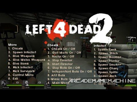 left 4 dead 2 cheats